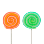 Two lollipops