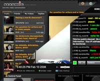 Seesmic aand Yahoo Live Screen Shots